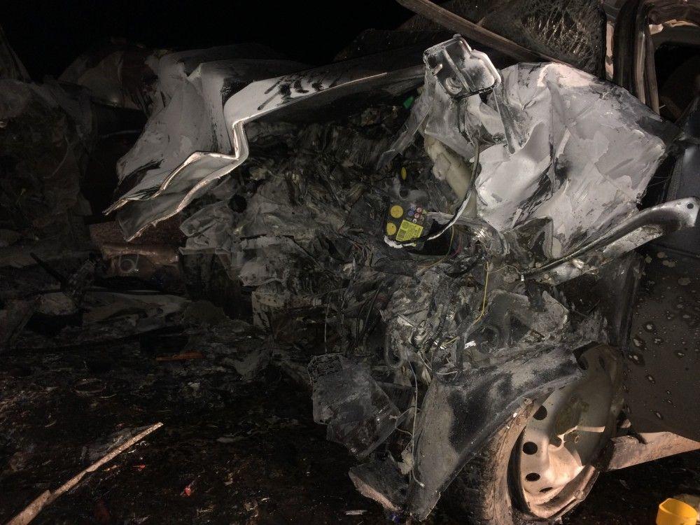 Фото и подробности страшной аварии за Приморским