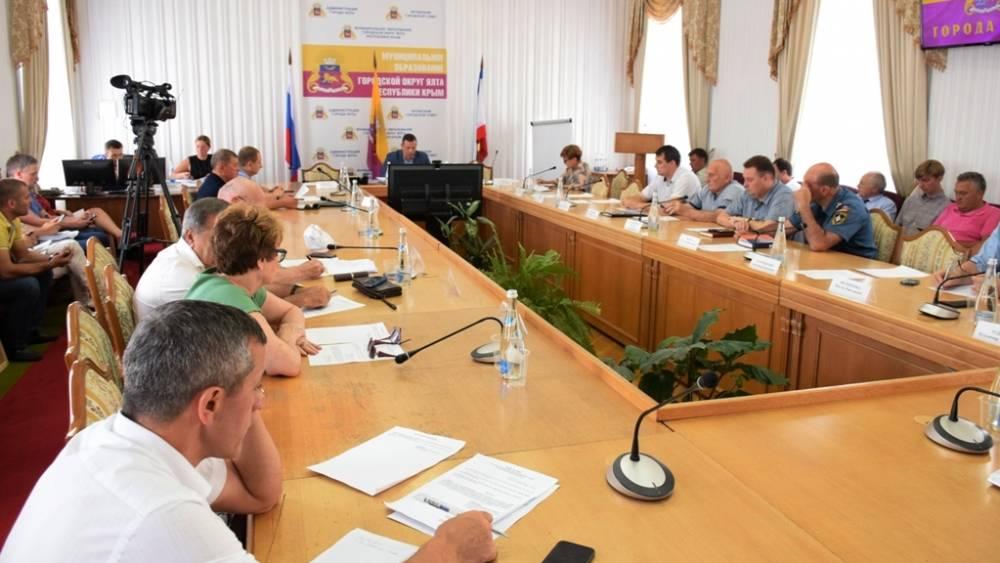 Состоялось очередное заседание Градостроительного совета Ялты