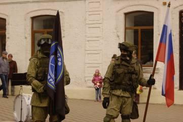 Феодосии сыграли военные моряки