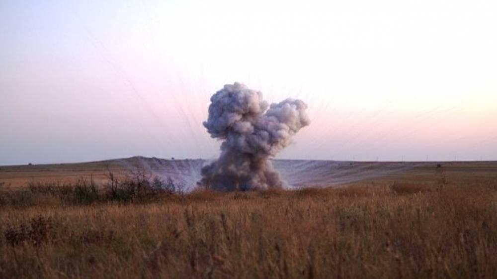 В Багерово обезвредили 50-килограммовую авиабомбу