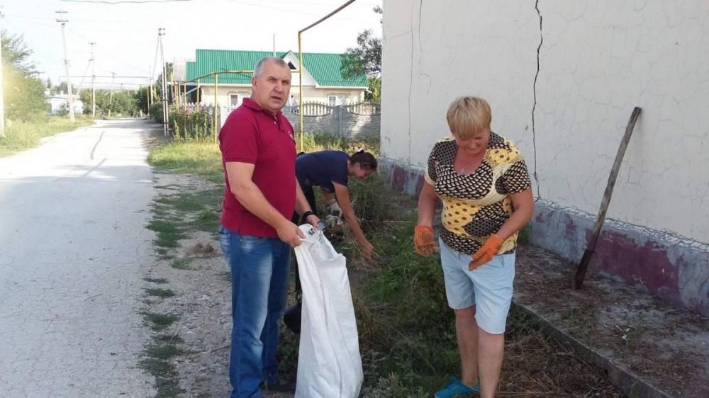 У жителей феодосийских сел отметили отсутствие энтузиазма к субботникам