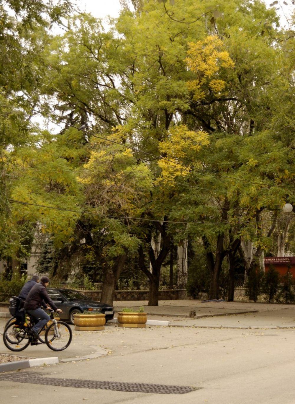 Фоторепортаж дня: Центр Феодосии в октябре