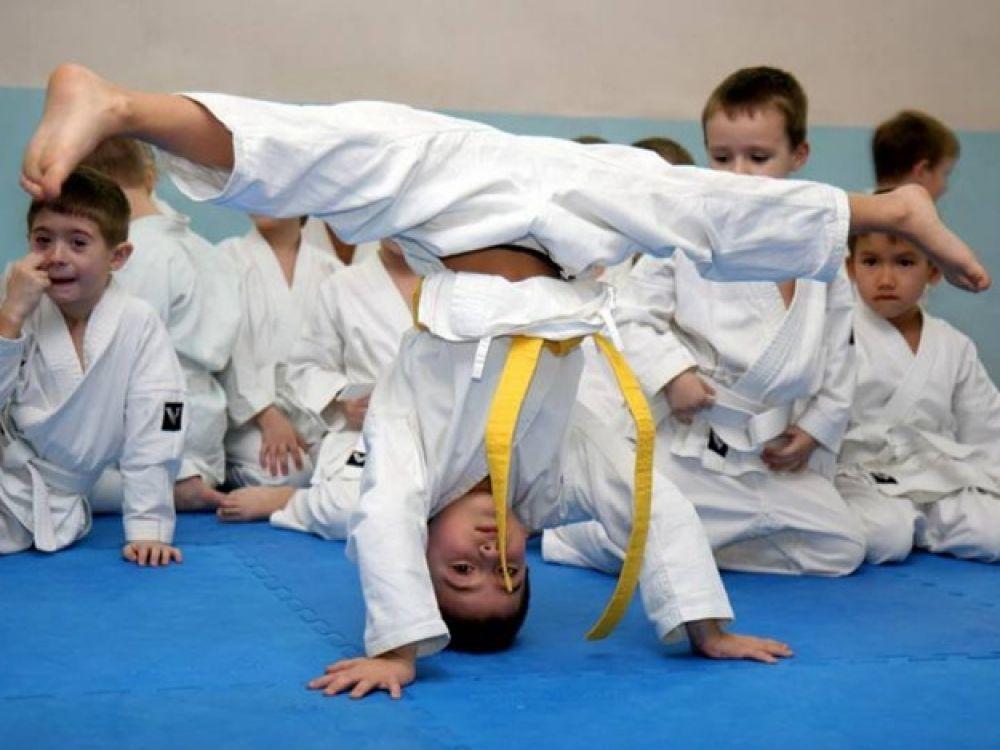 Спортивные секции работают во всех школах феодосийского округа