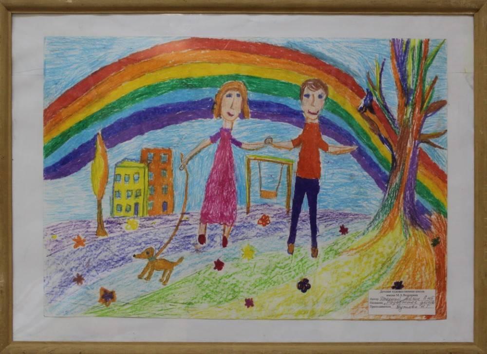 Выставка работ учащихся в Феодосийском музее древностей