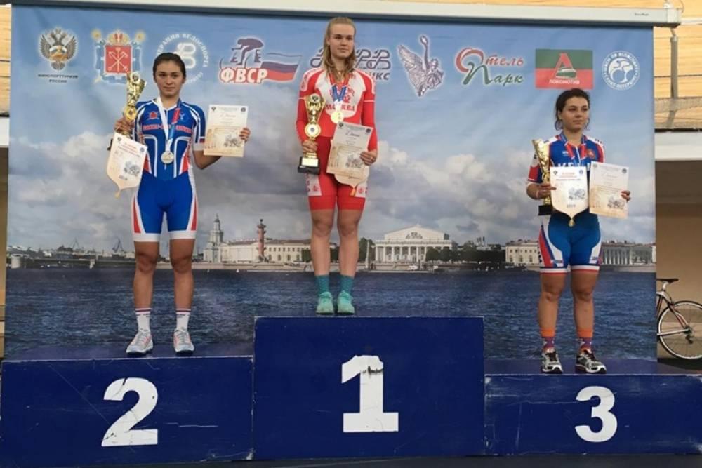 «Трековик» Алла Конончук из Симферополя стала бронзовым призером Спартакиады учащихся России