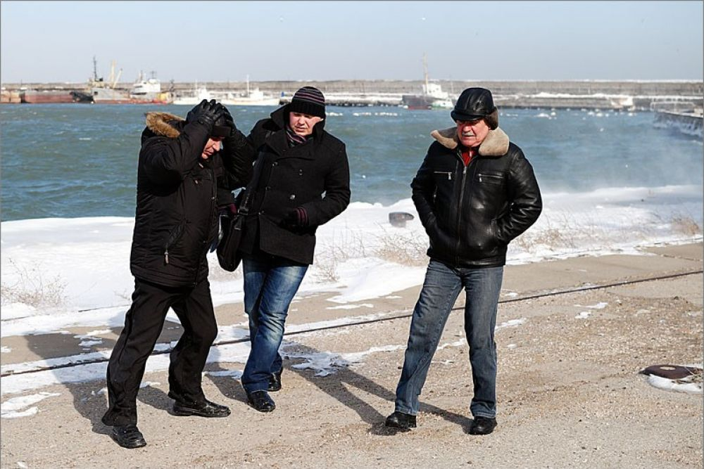 Феодосийцев предупредили, как вести себя при сильном ветре