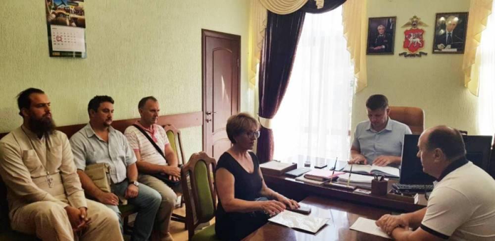 В отделе МВД России по г.Феодосии состоялось первое заседание нового состава Общественного совета