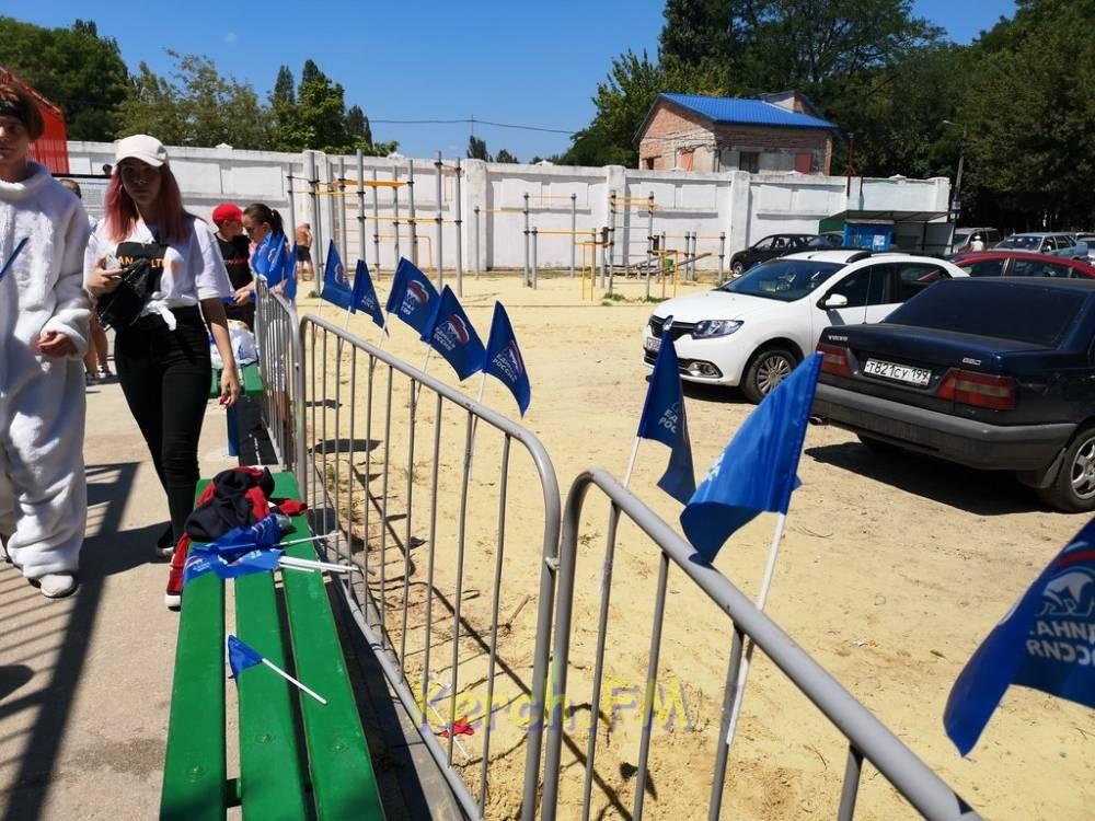 Открытие бюджетного объекта в Керчи превратили в политическую тусовку?