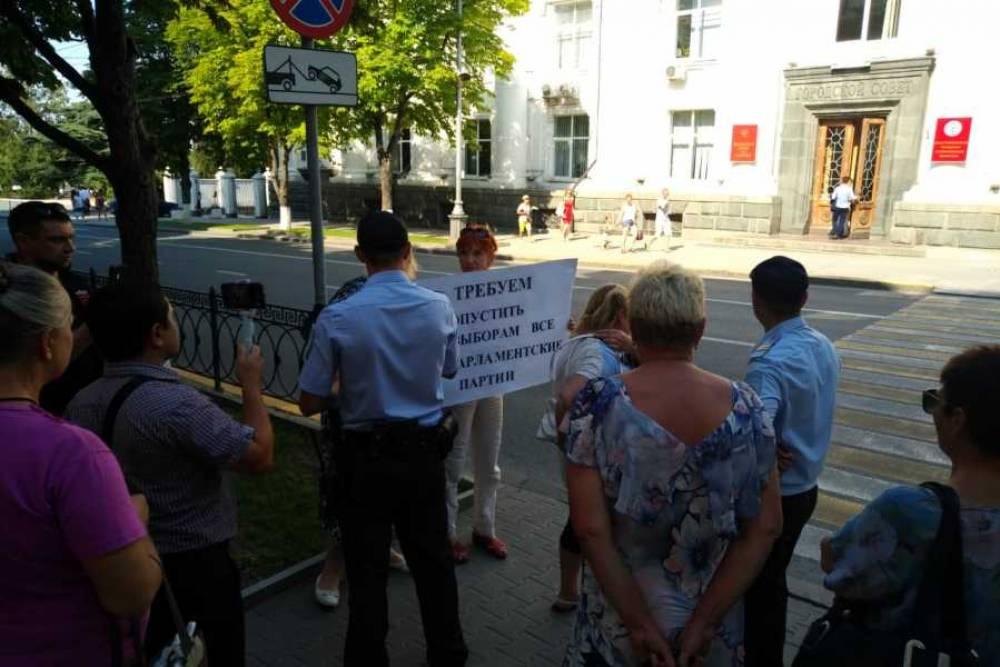«Партию дела» не допустили к выборам в Севастополе