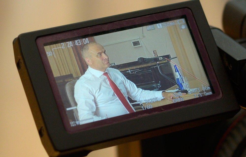 Смотрите телеинтервью с главой администрации Феодосии Станиславом Крысиным