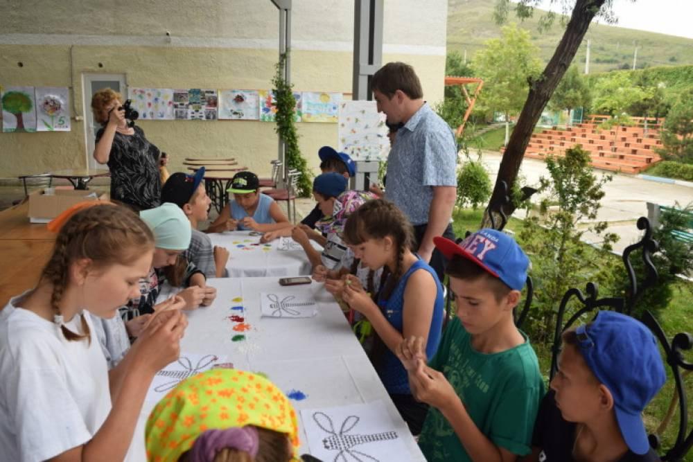 Дети-льготники отдыхали в летних лагерях Феодосии за счёт государства