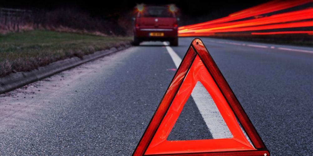 На въезде в Феодосию «Мазда» протаранила два встречных авто