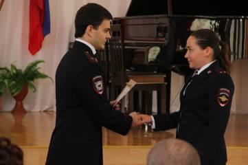 Торжественное поздравление феодосийских правоохранителей