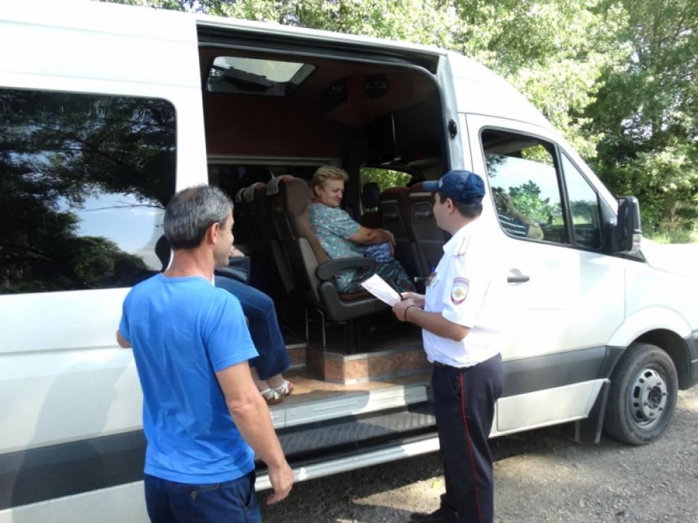 В Крыму полицейскими выявлены нарушения с сфере пассажирских перевозок