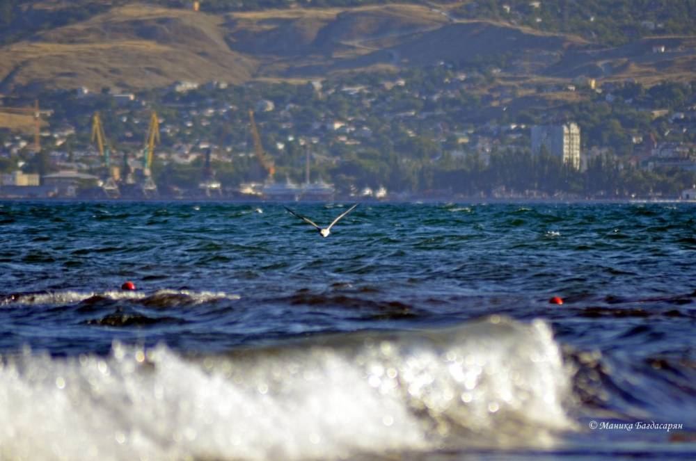 Феодосия - лучшее море в августе