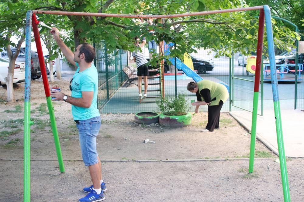 Праздник жителей двора – добрая традиция