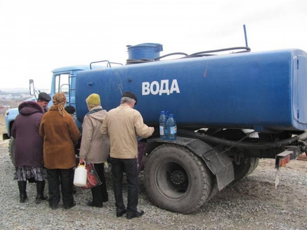 Аксенова возмутила стоимость подвозной воды в Симферопольском районе
