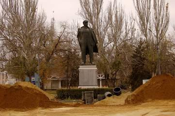 Феодосийский памятник Ленина хотели установить на Назукина