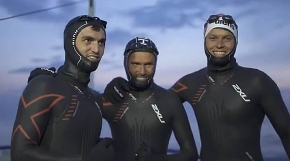 Аксёнов поздравил переплывших Байкал крымчан