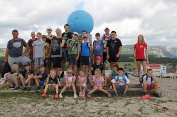 Спортсмены Ялтинской Федерации дзюдо отметили День физкультурника