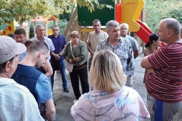 Депутаты Ялтинского горсовета  провели ряд встреч с жителями Ялтинского региона