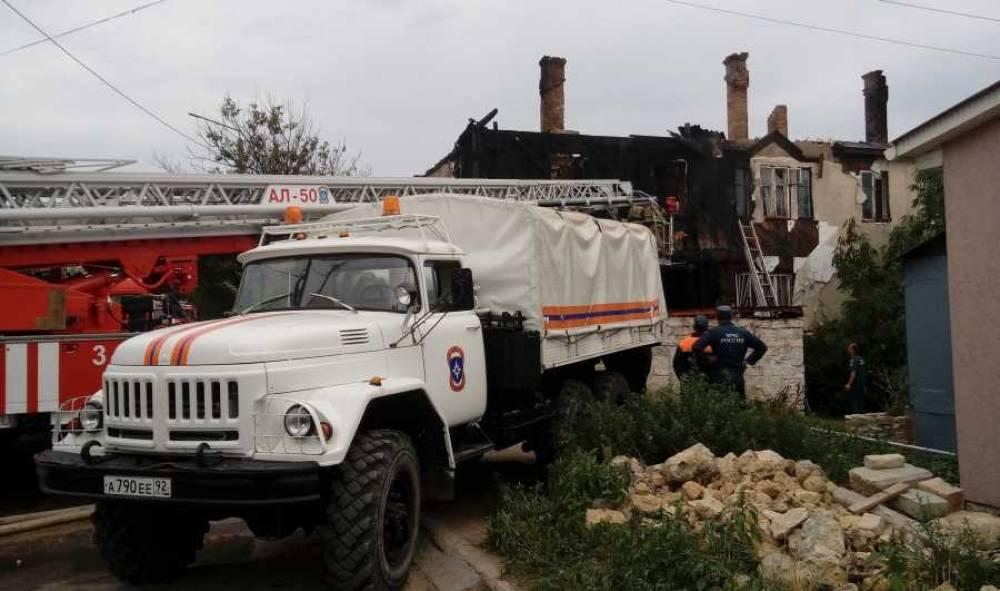 Севастопольским погорельцам предоставят новое жильё