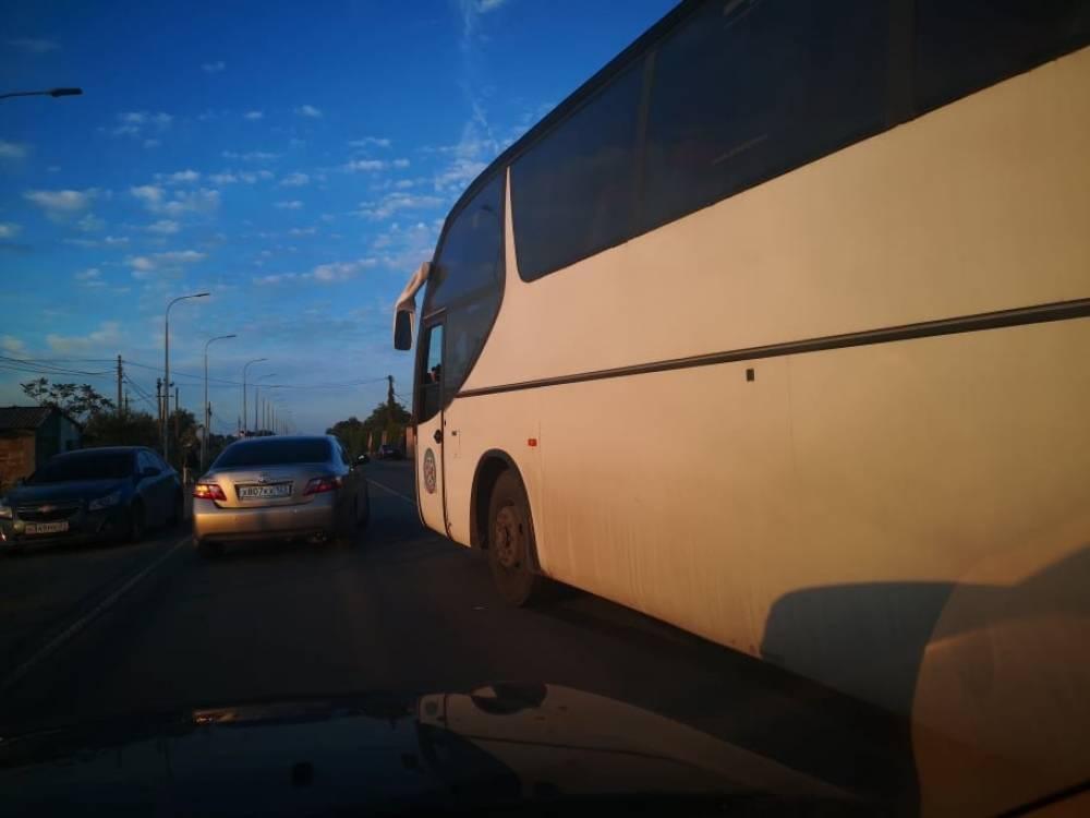 Рейсовый автобус «Севастополь-Керчь» попал в аварию под Феодосией