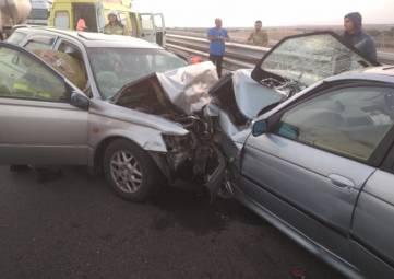 Пятеро человек пострадали из них двое детей в ДТП на трассе «Таврида»
