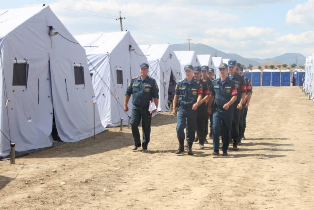 Крымские спасатели круглосуточно дежурят на фестивале «Таврида — АРТ»