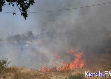 До воскресенья в Крыму сохранится чрезвычайная пожароопасность