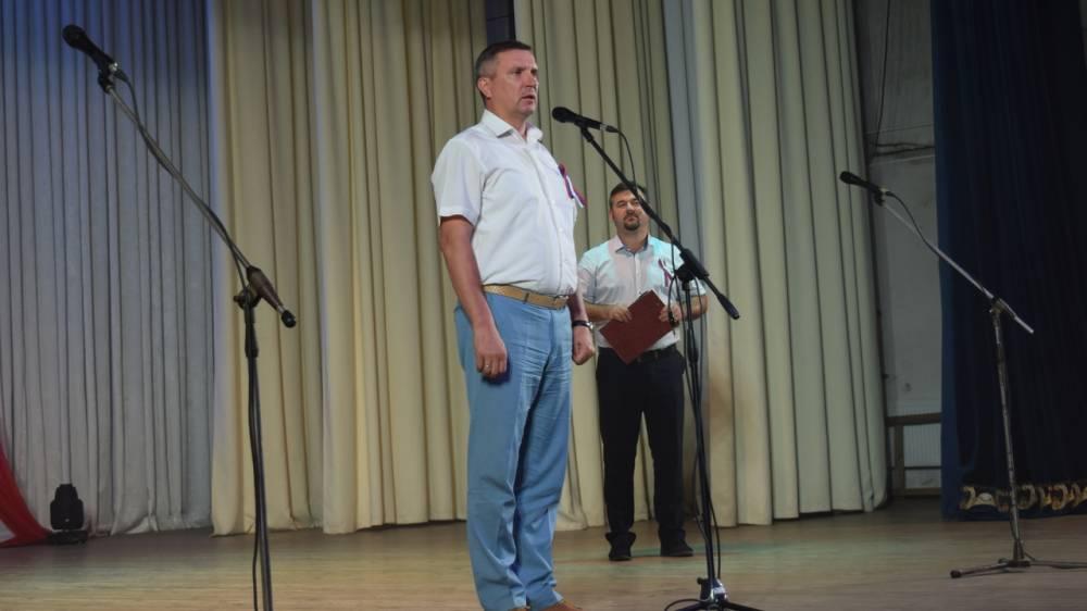 В Джанкое торжественно отметили День Государственного флага Российской Федерации