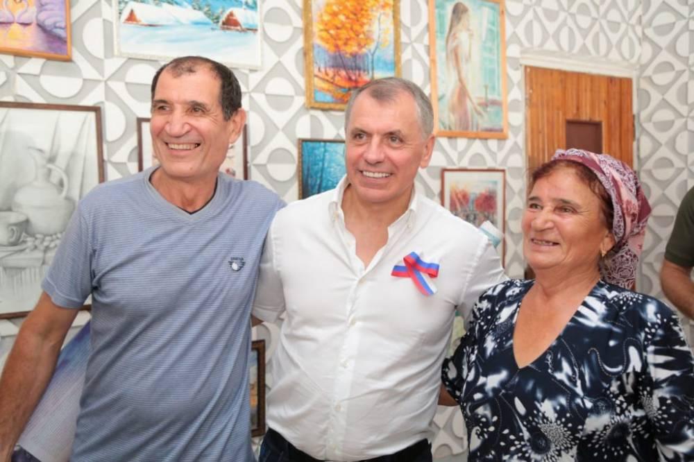 В рамках рабочего визита Владимир Константинов встретился с жителями городского округа Судак