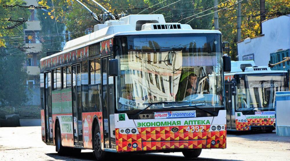 Новые троллейбусы вышли на маршрут в Керчи