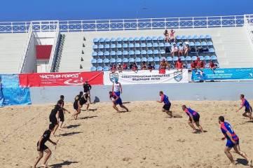 Сборная Крыма выиграла Открытый Кубок Севастополя по пляжному регби