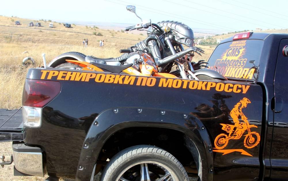 Мотокросс в Феодосии - лучшие моменты. Феосети