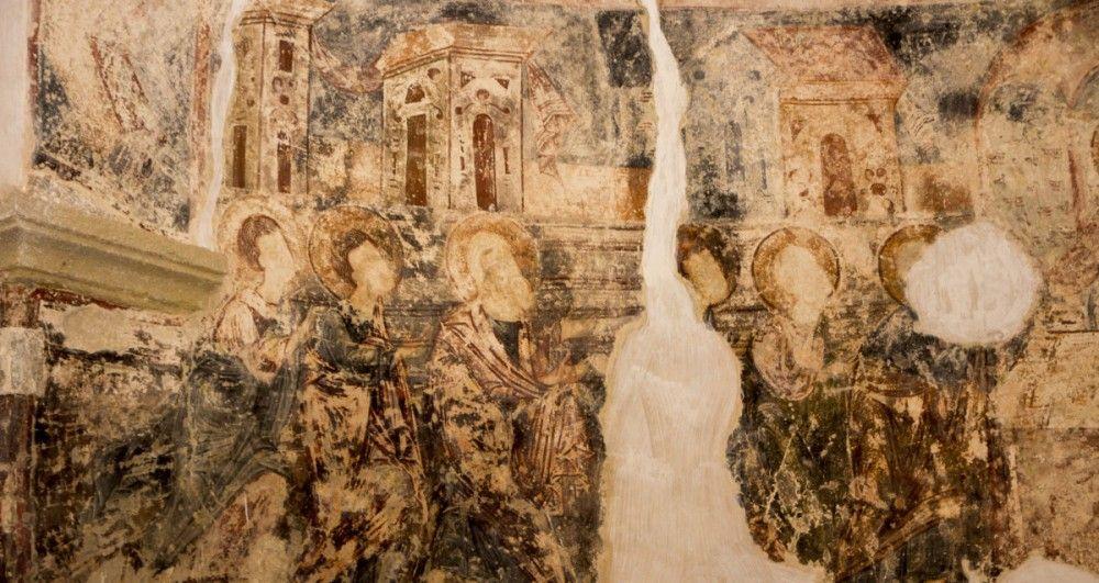О Феодосии и фресках в храме Солунского