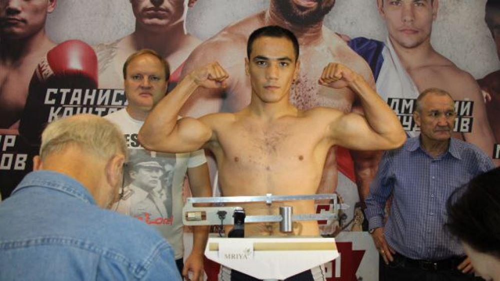 Очередной мастер-класс для феодосийских боксеров