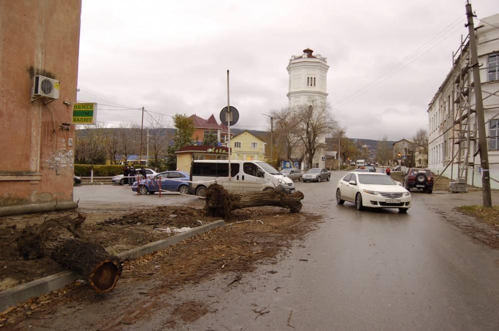 С 16 по 18 декабря в Феодосии будет изменено движение транспортных средств