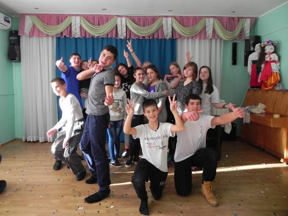 «Николайчики» в Феодосийском социально – реабилитационном центре для несовершеннолетних