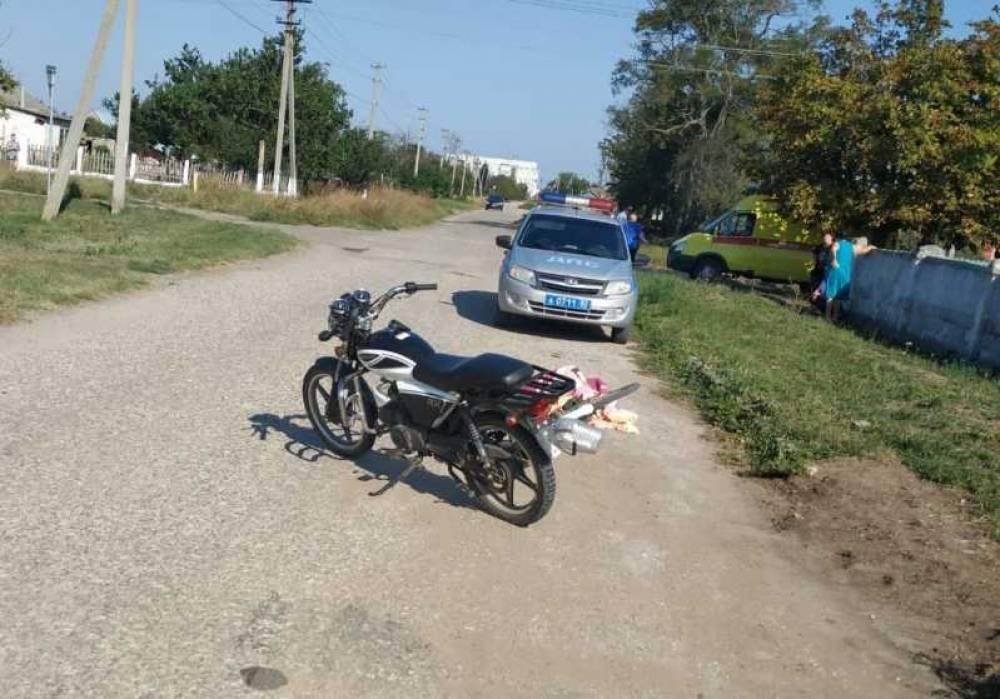 В Крыму подросток на мопеде насмерть сбил велосипедиста