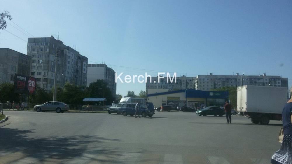 На Таврической площади столкнулись «ВАЗ» и ГАЗель
