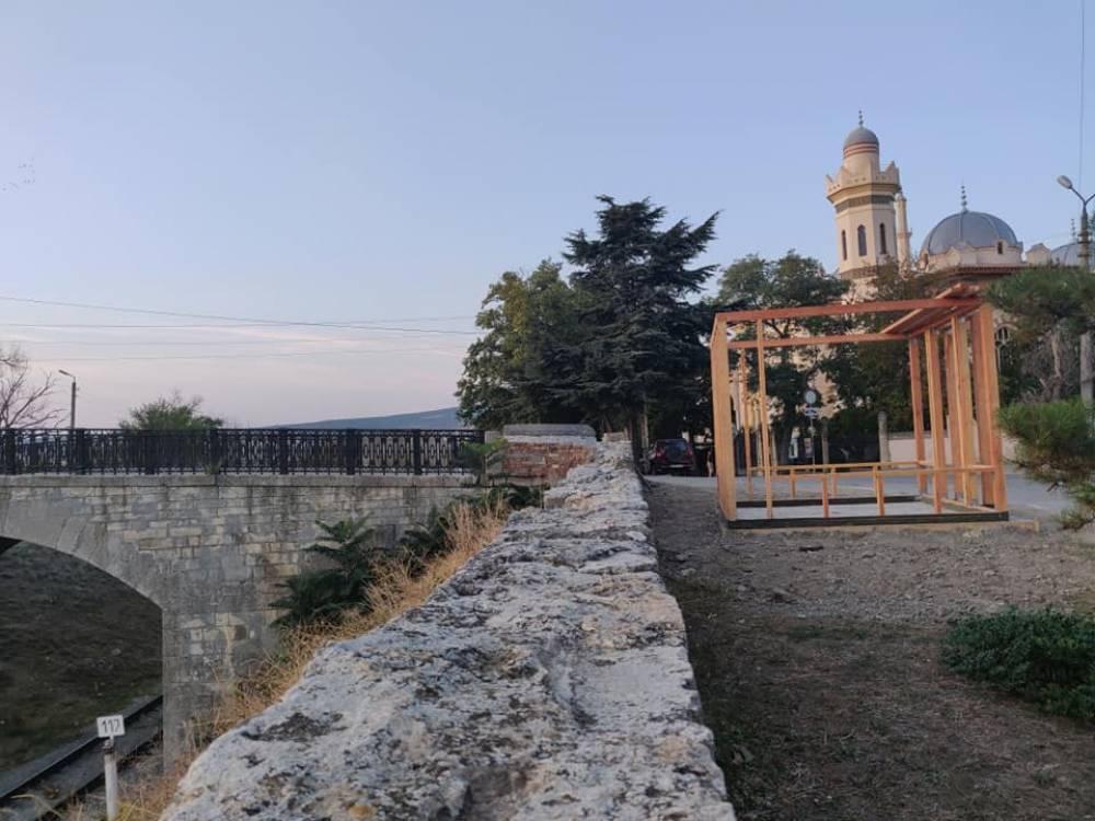 Феодосийцы недовольны строительством НТО возле дачи Стамболи