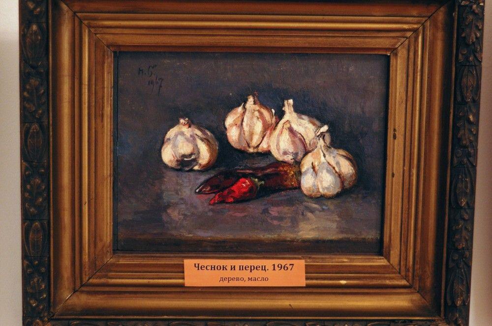 В Феодосии экспонируется выставка натюрмортов Николая Барсамова. Фотографии работ