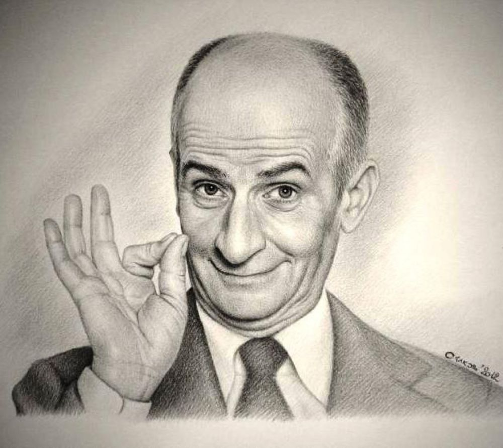В Феодосии пройдет вечер, посвященный французскому комику Луи де Фюнесу