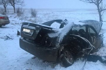 Смертельное ДТП в Кировском районе: три человека погибли, четверо серьезно пострадали (ФОТО)