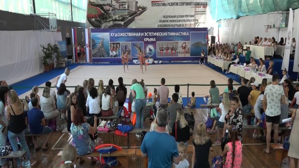 Ялтинские гимнастки успешно представили город на республиканских соревнованиях «Золотая осень»