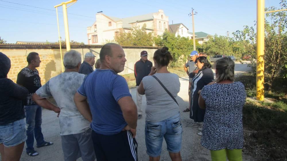 В селе Береговое провели встречу с горожанами