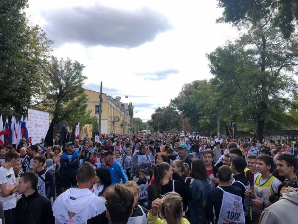 В Симферополе Кросс нации пробежали 1,5 тыс человек