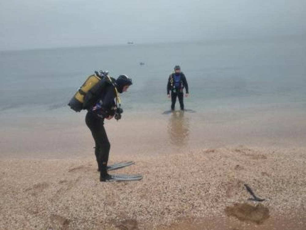 В Феодосии в море взорвали авиабомбу весом 250 кг