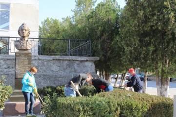 В Белогорском районе прошел экологический субботник